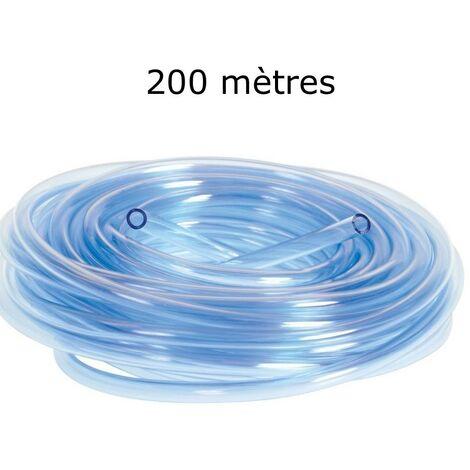 200 mètres de tuyau 4/6 mm pour pompe à air aquarium et bassin