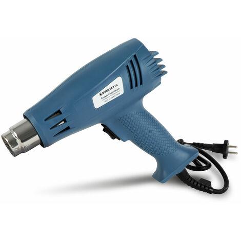 2000 W Pistola de aire caliente para Calefacción, Secante, Soldadura y Contracción (2 Niveles de calor, 300°C - 600°C)