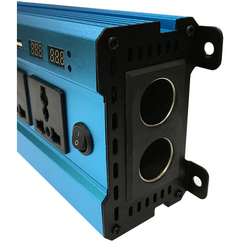"""main image of """"2000W Car Power Inverter Solar Power Inverter DC 12V to AC 220V Modified Sine Wave Converter with Four USB Interface"""""""