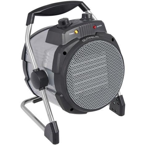 2000W ventilateur chauffage radiateur céramique électrique 2 marches thermostat réglable GGV HL61830si