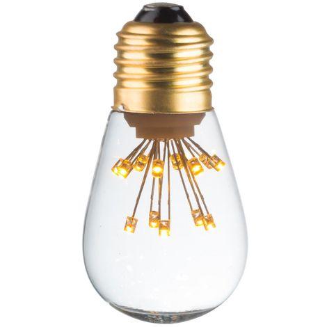 20030110001 Ecolicht bulbo deco esfera LED 50lm 360 E27 0.5W - sosa caliente