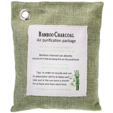200G De Charbon De Bambou Sac Pour La Maison Charbon Actif Fresher Absorbeur D'Odeurs Mold Supprimer Humidite