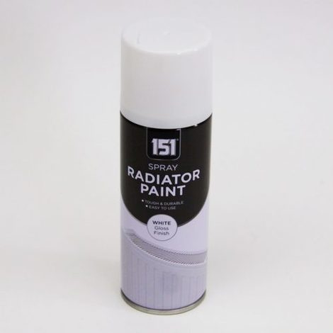 200ml 151 Radiator Paint Spray White