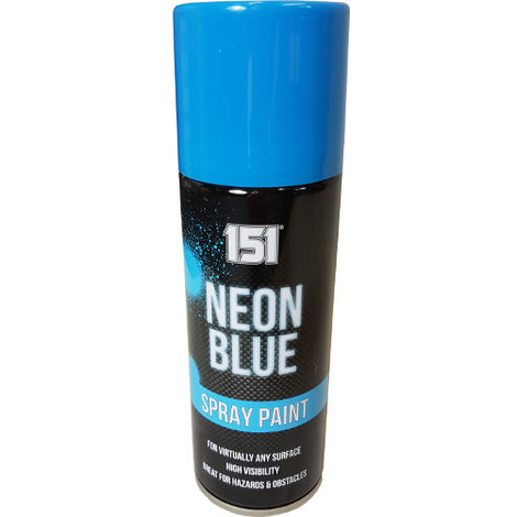 200ml 151 Spray Paint Gloss Neon Blue
