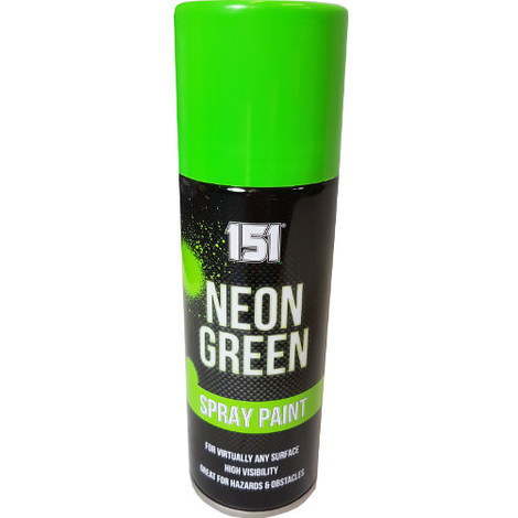 200ml 151 Spray Paint Gloss Neon Green