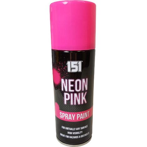 200ml 151 Spray Paint Gloss Neon Pink