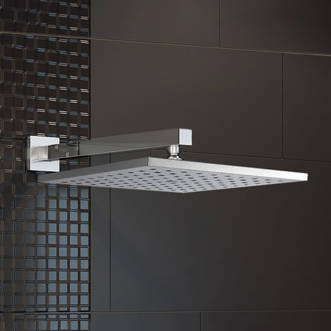 200mm Round Shower Head + Swivel Joint