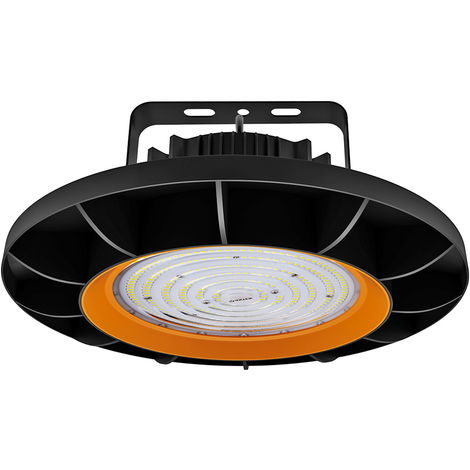200W UFO LED High Bay Light 26000LM SMD2835 White LED Warehouse Lighting IP65 Commercial Bay Lighting
