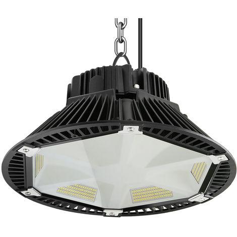 200W UFO LED Industrial, 26000Lm UFO LED Alta Bahía Luz Iluminación para Almacén Comercial Industrial (IP65, 6000K)