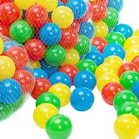 200x Balles colorées Ø6cm pour piscine à balles tente de jeu Jeux jouets enfants