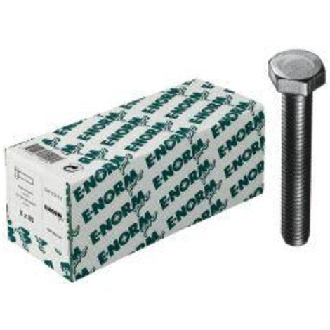 ohne Schaft 100 St/ück verzinkt M5x16 SECOTEC Sechskant-Schraube DIN 933