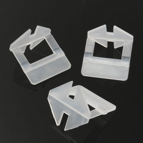 200x Floor Tile Leveling System Wall Spacer Level Clamp Clip 1mm