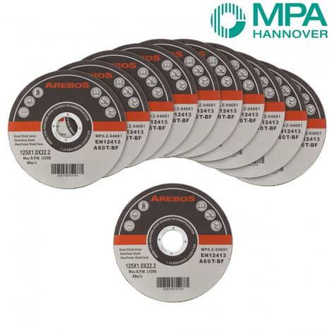"200x Metal Cutting Discs 1mm Ultra Thin 5"" 125mm Angle Grinder Disc Steel"