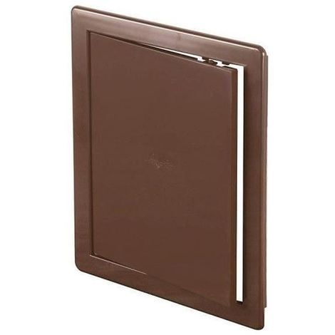 200x200mm ABS Brown Plastic Durable Inspection Panel Hatch Wall Access Door