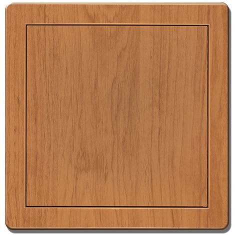 200x200mm Durable ABS Plastic Access Inspection Door Panel Alder Color