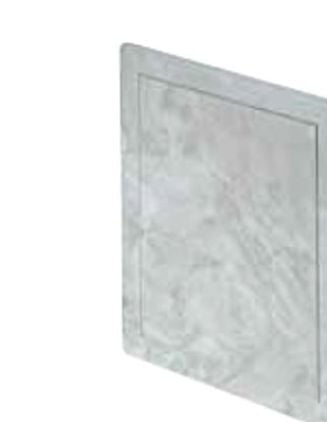 200x200mm Durable ABS Plastic Access Inspection Door Panel Bright Marble Color