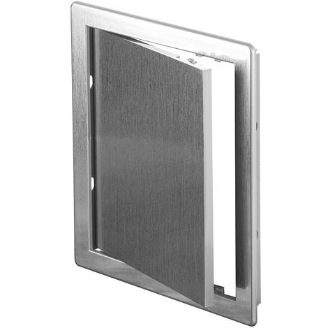 """main image of """"200x200mm Durable ABS Plastic Access Inspection Door Panel Silver Color"""""""