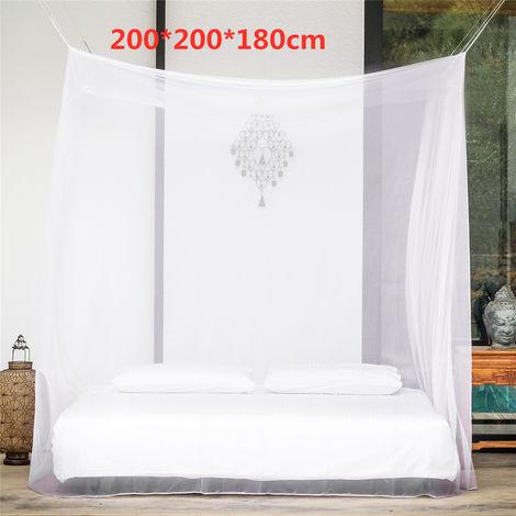 200x200x180cm Camping Moustiquaire Grand Moustiquaire Extérieure Facile à Transporter
