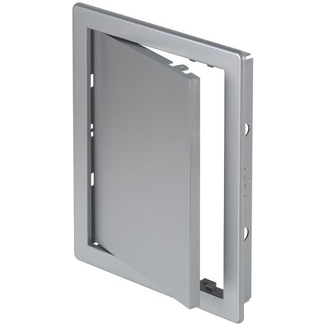 200x250mm durable abs plastic access inspection door panel satin silver color