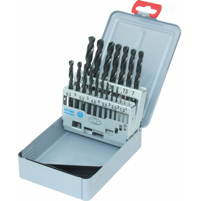 Image of 201 000.013 Drill Set in Case 1.0-10.0X0.5MM 19PC - Guhring