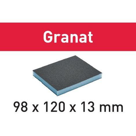 201113 Festool Éponge de ponçage 98x120x13 120 GR/6 Granat
