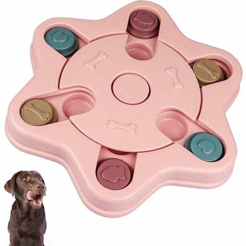 Abcrital - ?2021 Amélioré? Jouets de puzzle pour chien pour la formation de friandises pour chiots Jouets interactifs pour chiens pour animaux de
