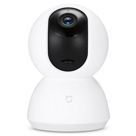 2021 Nouveau 720P Caméra IP Nuit Vision Sécurité Maison 360° WiFi Android / iOS Hasaki