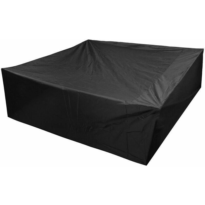 Baignoire Couverture Extérieur Imperméable Anti poussière 200x200x65cm