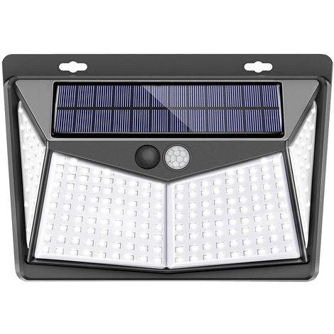 208LED Solar Lamp Wall Lamp Outdoor Garden Waterproof Motion Sensor 3 Mode