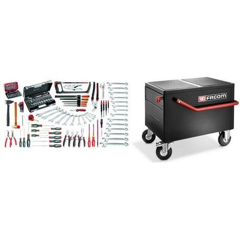 2092.M120A Sélection maintenance industrielle 147 outils et servante-coffre 2285.05