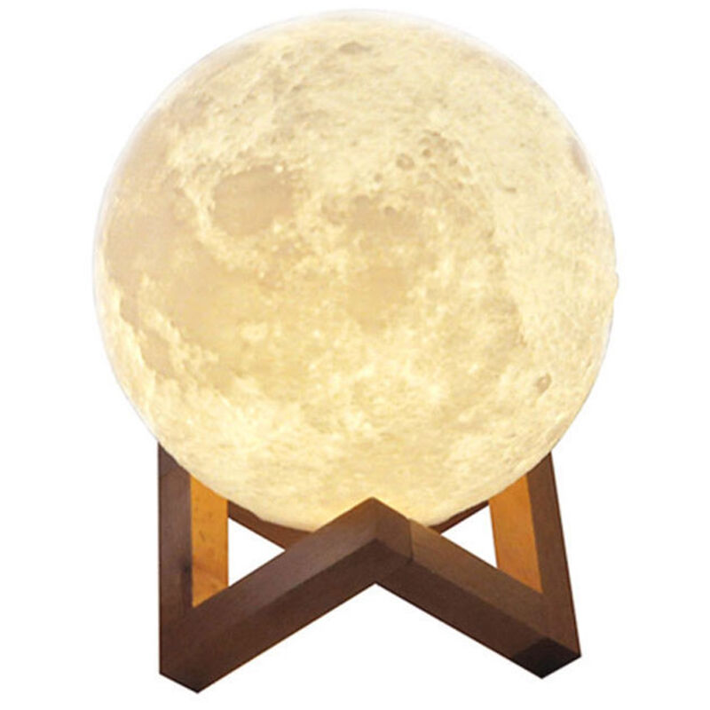 Image of Aibecy - 20cm / 7.9 inch moonlight USB rechargeable LED night light
