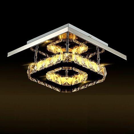 20CM Ceiling Light LED Chandelier Ceiling Lamp lighting Light Crystal HangingWarm light