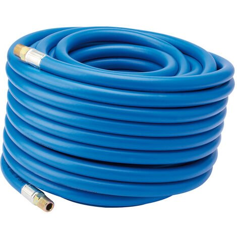 """20M Air Line Hose (5/16""""/8mm Bore) with 1/4"""" BSP Fittings"""