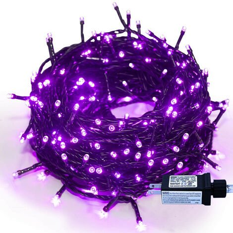 """main image of """"20m String Lights Mains Powered 8 Modes Waterproof Outdoor Garden Lights for Trees, Gazebo, Wedding, Party, Bedroom, Indoor, Christmas Decoration (Warm White)"""""""