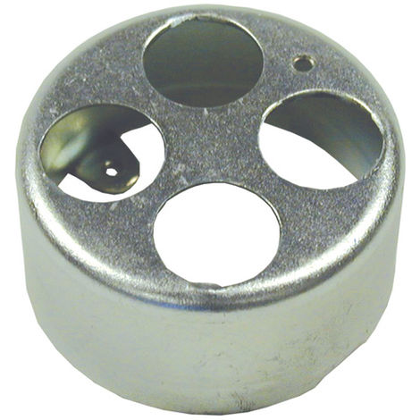 20mm 1 Hole Galvanised Loop In Box