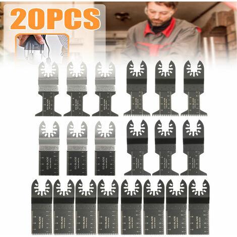 20PCS Kit lama sega oscillante multiutensile per Fein Multimaster Makita