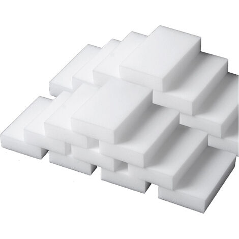 20pcs / Set, esponjas de limpieza, Extra Grande esponja del borrador, blanca