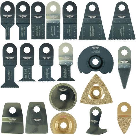 20pcs TopsTools Mix Multitool Blade Kit - RVK20