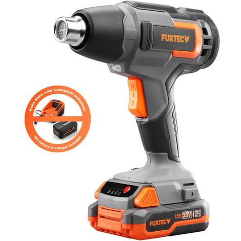 20V cordless heat gun - solo - FUXTEC E1HLP20 - no battery/charger inluded!