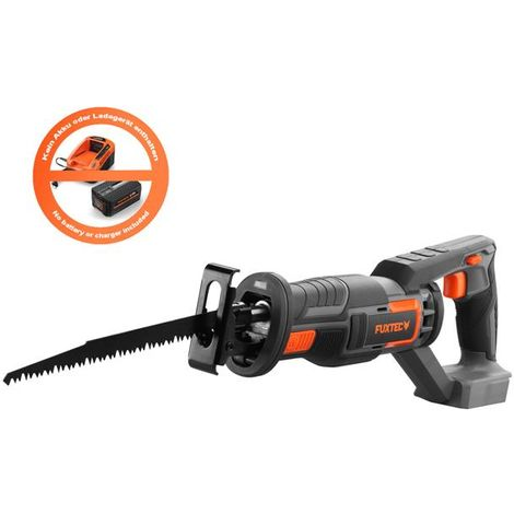 20V cordless reciprocating saw - solo - FUXTEC E1SS20 - no battery/charger inluded!