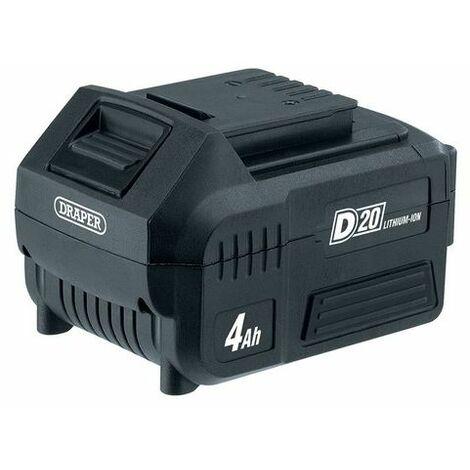 Draper 55898 20V D20 Lithium-Ion Battery (4.0Ah)