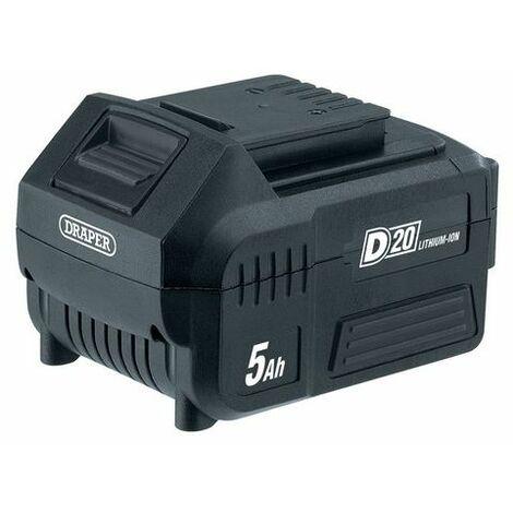 Draper 55907 20V D20 Lithium-Ion Battery (5.0Ah)