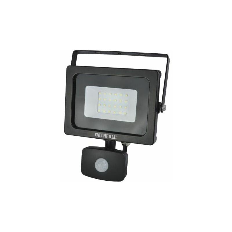 Image of SMD LED Security Light with PIR 20W 1600 Lumen 240V ( SLWM20S) - FPP