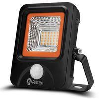 20W Foco LED Exterior con Sensor Movimiento, 2200LM, Blanco Cálido (2800-3200K), Impermeable IP66 Iluminación para Exterior y Seguridad