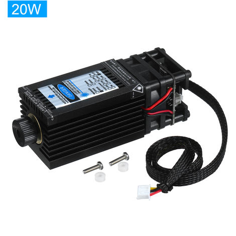 20W laser Jefe Modulo laser, 450nm azul Lase