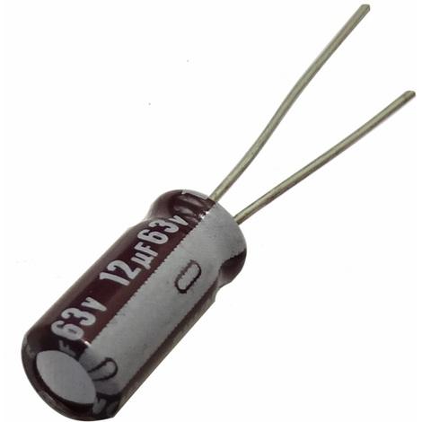 10x Condensateur chimique LOW ESR 4.7µF ±20/% 160V THT 40..105°C 3000h Ø8x11.5mm