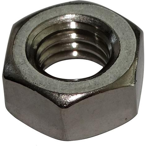 Hexagonal écrous 10 mm DIN 934 M 10 Acier Inoxydable a2 10 pcs.