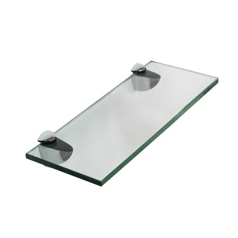 20x10CM Glass shelf holder Wall shelf Bathroom Shelf