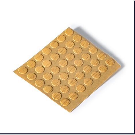 """main image of """"2100 Tapones para ocultar tornillos, autoadhesivo, fabricado en PVC y acabado roble claro"""""""