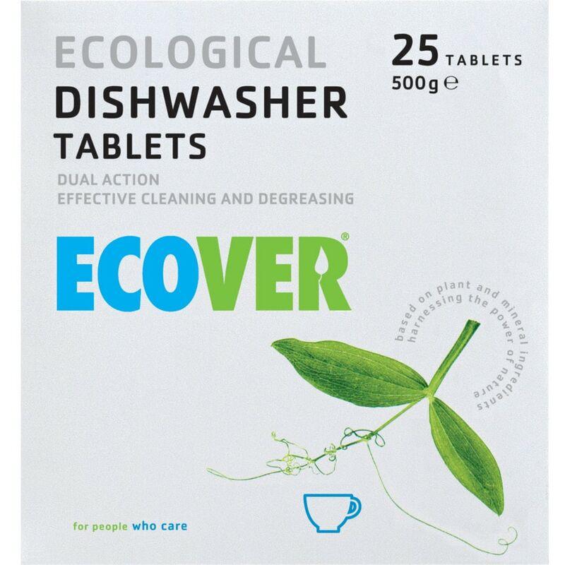 Image of Ecover 2107 Dishwash Tablets (Pk-25)